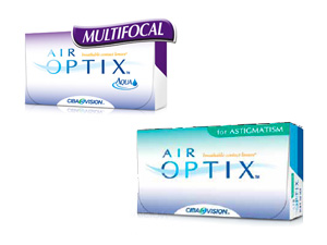 Air Optix for Astigmatism | Air Optix Aqua Multifocal