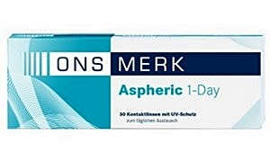 ONS MERK Aspheric 1-Day